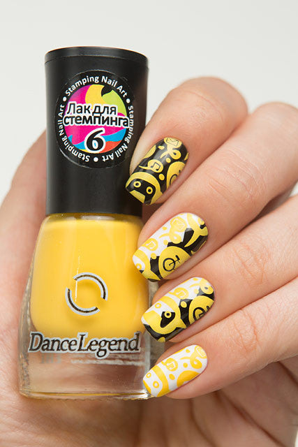 YELLOW Stamping Polish - Nailshop.ae