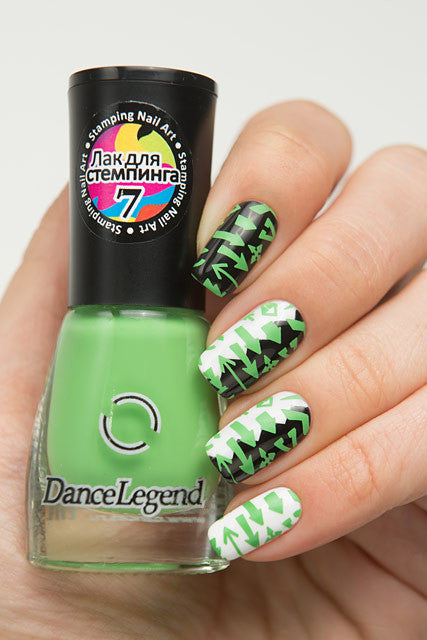 GREEN Stamping Polish - Nailshop.ae