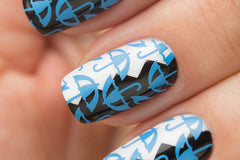 BLUE Stamping Polish - Nailshop.ae