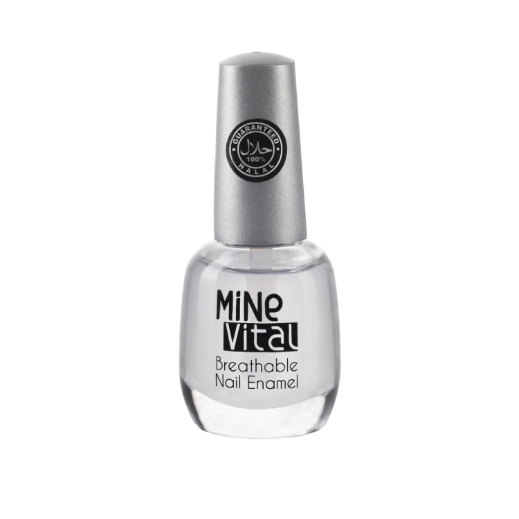 "MineVital Breathable Nail Polish - ""Feather"" - Nailshop.ae"