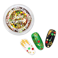 Festive Holiday Glitter Mix / Christmas Tree - Nailshop.ae