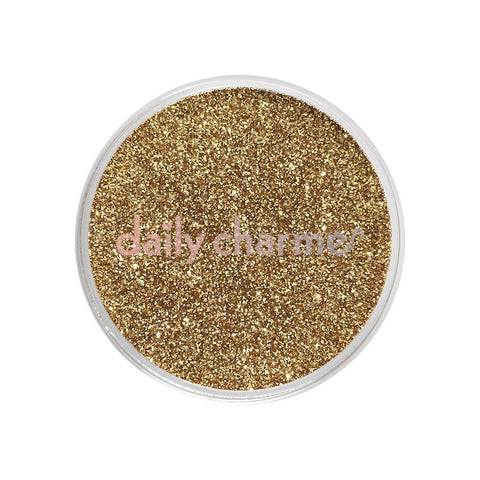 Metallic Glitter Dust / Champagne Gold