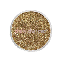 Metallic Glitter Dust / Champagne Gold - Nailshop.ae