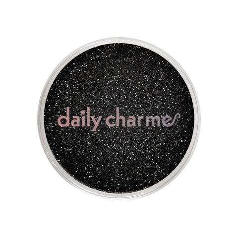 Metallic Glitter Dust / Black Diamond