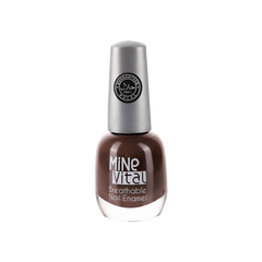 "MineVital Breathable Nail Polish - ""Brunneis"" - Nailshop.ae"