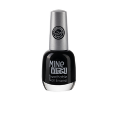 "MineVital Breathable Nail Polish - ""Coal"" - Nailshop.ae"