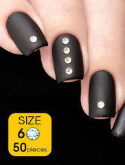 Crystal, size 6ss - Nailshop.ae