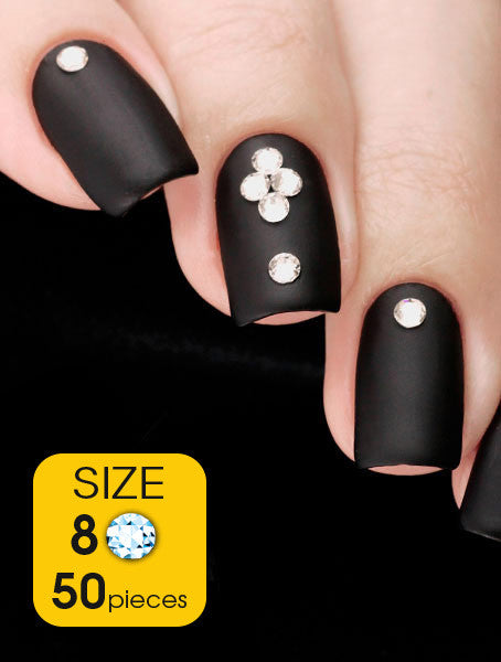 Crystal, size 8ss - Nailshop.ae