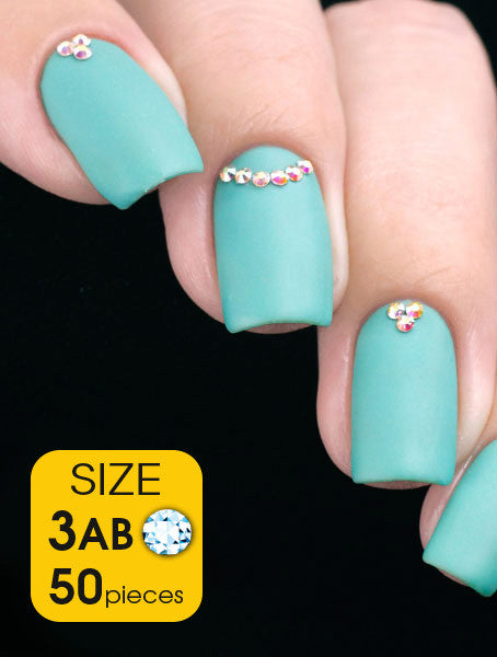Crystal AB, size 3ss - Nailshop.ae