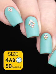 Crystal AB, size 4ss - Nailshop.ae