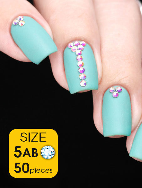 Crystal AB, size 5ss - Nailshop.ae