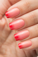 BOW THERMO TOP COAT RED - Nailshop.ae
