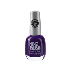 "MineVital Breathable Nail Polish - ""Deep Purple"" - Nailshop.ae"