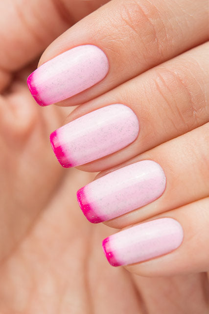 BOW THERMO TOP COAT PINK - Nailshop.ae