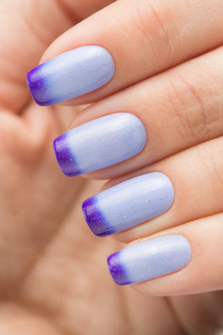 BOW THERMO TOP COAT VIOLET
