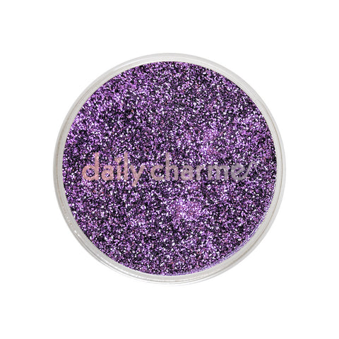 Metallic Glitter Dust / French Lavender