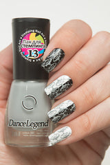 GREY Stamping Polish - Nailshop.ae