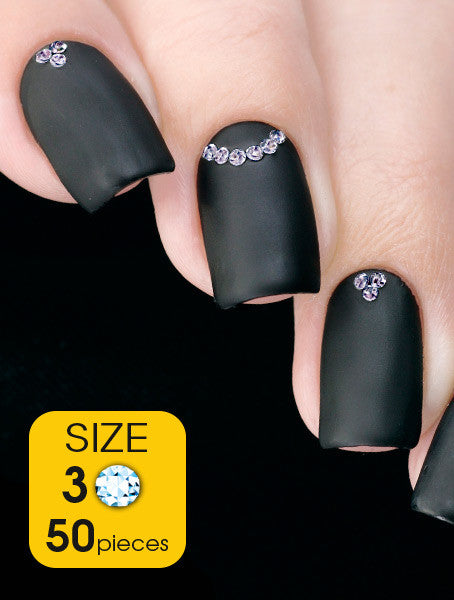 Light Sapphire, size 3ss - Nailshop.ae