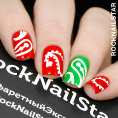 RockNailStar vinyl stencils - India Mini