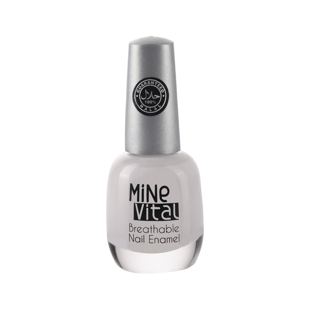 "MineVital Breathable Nail Polish - ""Pearly"" - Nailshop.ae"