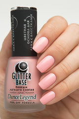 Peel-off Base for chrome(regular polish) pink - Nailshop.ae