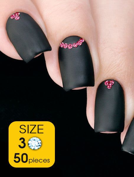 Rose, size 3ss - Nailshop.ae