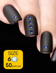 Sapphire, size 6ss - Nailshop.ae
