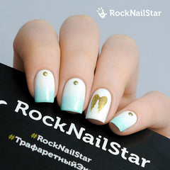 RockNailStar vinyl stencils - Wings Mini