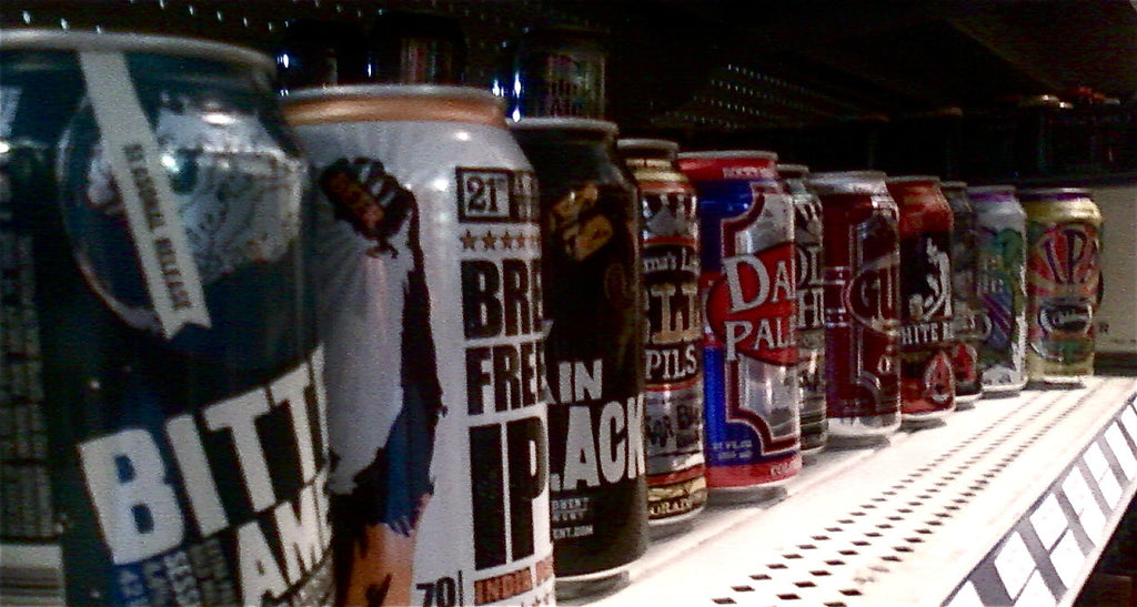 The Evolution of Canned Beer by Danny Flad