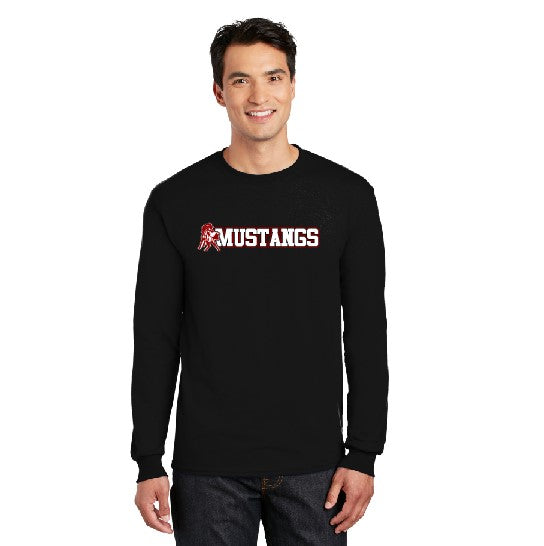 Mustangs Long Sleeve Black TShirt