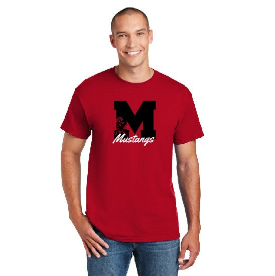 Youth Block M Red TShirt
