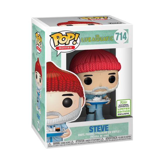 Funko Pop! Emerald City Comic Con Exclusive: The Life Aquatic: Steve Zissou