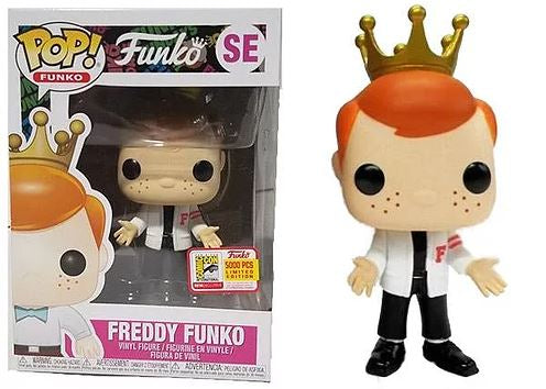 Freddy Funko (Danny Zuko) (Carnival) (Red) Pop! Vinyl Figure