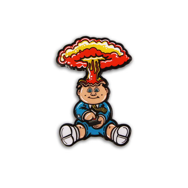 Garbage Pail Kids® Adam Bomb Enamel Pin