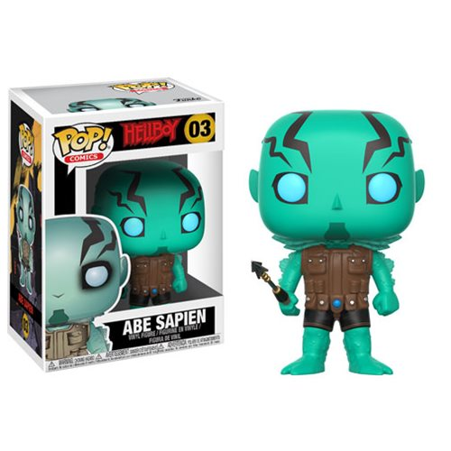 Hellboy Comic Abe Sapien Pop Vinyl Figure