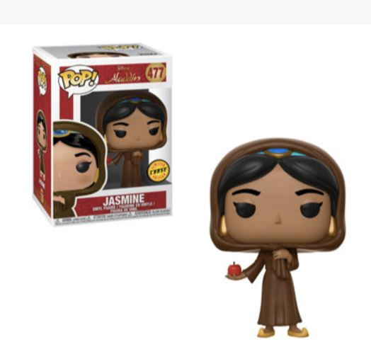 Aladdin Jasmine in Disguise Pop! Vinyl Figure CHASE