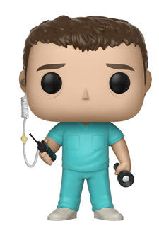 Bob in Scrubs Stranger Things Pop! Vinyl Figure