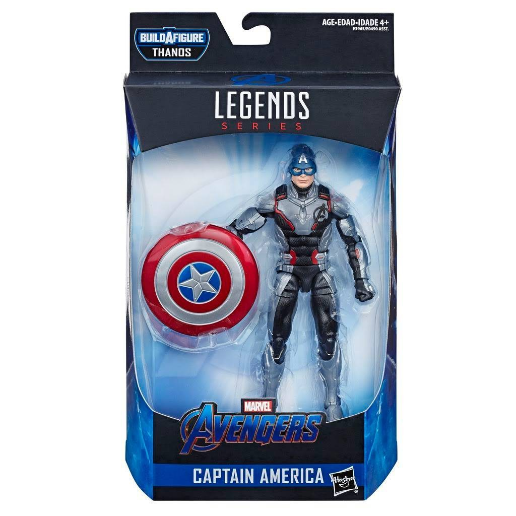 Avengers: Endgame Marvel Legends Thanos Series Captain America Action Figure [Endgame]