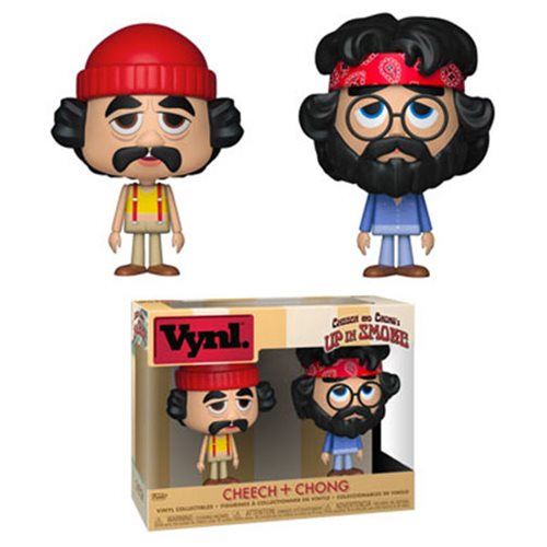 Up In Smoke Cheech and Chong Vynl. Figure 2-Pack