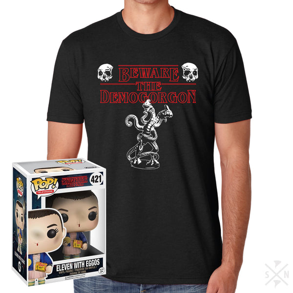 Beware the Demogorgon Tee and Funko Pop!