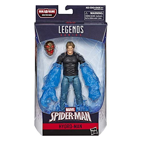 Spider-Man: Far From Home Marvel Legends Hydro-Man (Molten Man BAF)