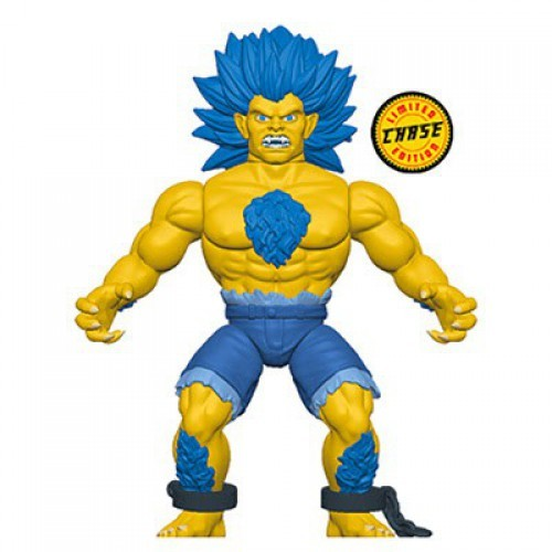 Funko Street Fighter Savage World Blanka Action Figure [Yellow Chase Version]
