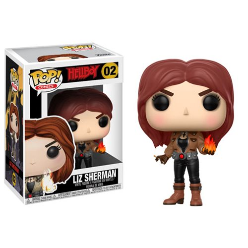 Hellboy Comic Liz Sherman Pop Vinyl Figure