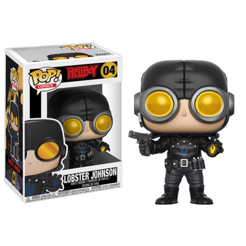 Hellboy Comic Lobster Johnson Pop Vinyl Figure
