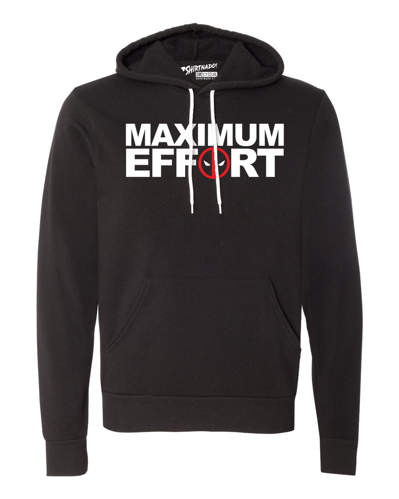 Maximum Effort Pullover Hoodie