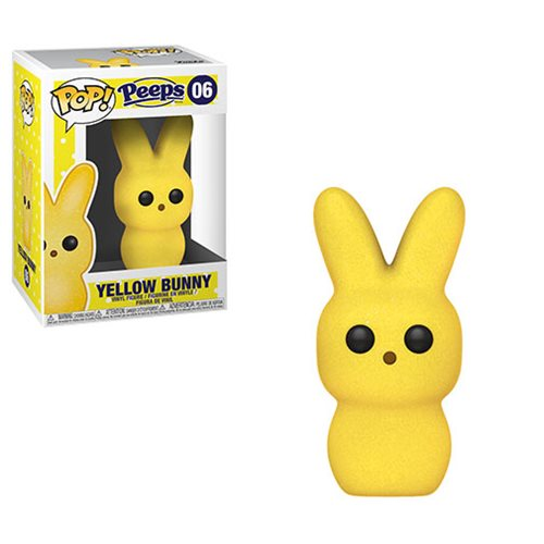 Peeps Yellow Bunny Pop! Vinyl Figure