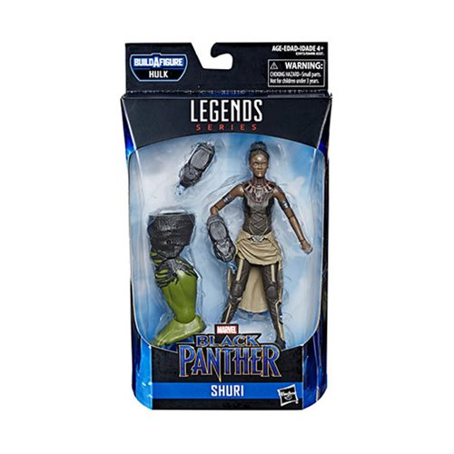 Avengers Marvel Legends 6-Inch Shuri Action Figure
