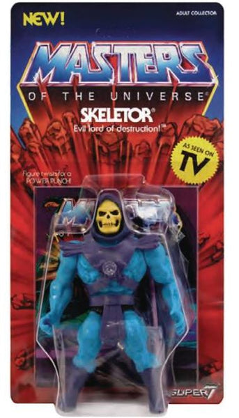Masters of the Universe Vintage Skeletor 5 1/2-Inch Action Figure