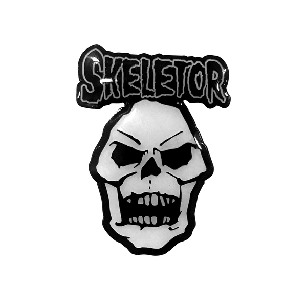 Skeletor Misfits Pin