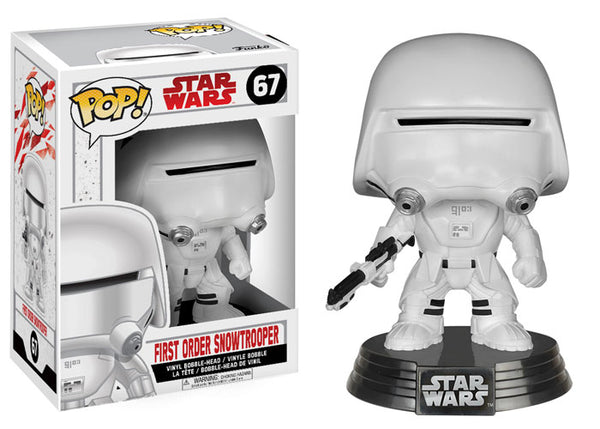 Star Wars: The Last Jedi-First Order Snowtrooper Funko Pop!